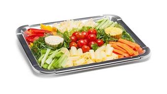 Gemüse-Käse-Platte